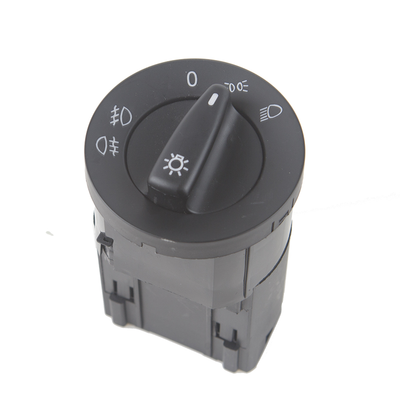 Car Head Light Control Car Fog Lamp Knob Switch for VW AL / Transporter T5 Polo Bora Golf Lupo Beetle Passat Sharan 1C0941531A