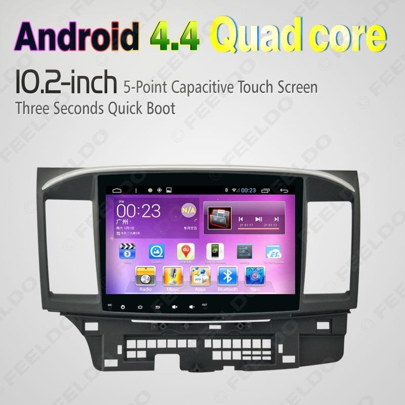 """imágenes para 10.2 """"Quad Core Android 4.4 1024X600 Radio de Coche DVD GPS de Navegación Multimedia Central para Mitsubishi Lancer Regalo al azar # J-4681"""