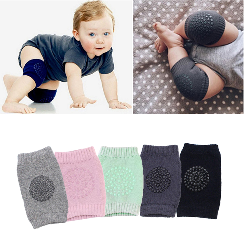 Baby Knee Pads Baby Leg Warmers Safety Cotton Flexible Crawling Protector Kids Kneecaps Children Short  Kneepad Sports Brace