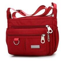 Модная Водонепроницаемая нейлоновая женская сумка-мессенджер, женская сумка через плечо высокого качества, женские сумки через плечо, сумки Bolsa Sac Y