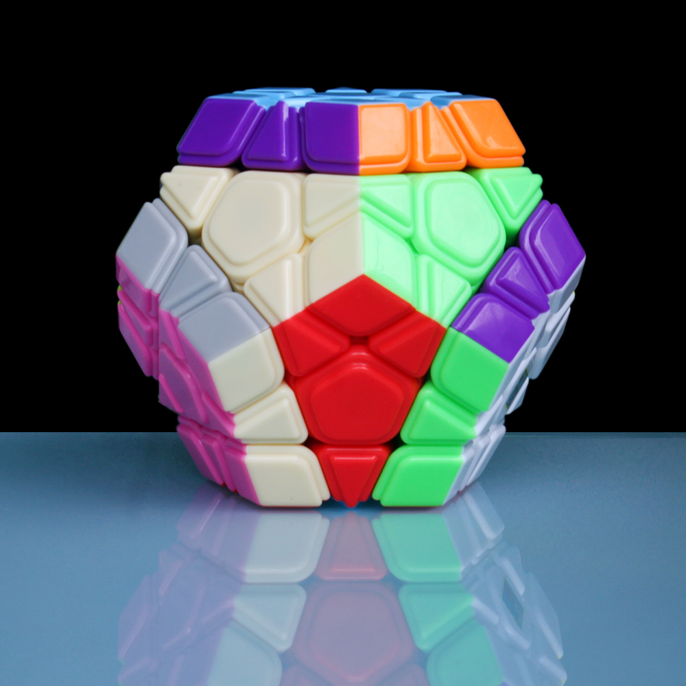 MoYu CLASE DE Megaminx cubo mágico 3*5*12 3x5x12 rompecabezas de cubo de juguete para niños de tres capas profesional velocidad Cubo Megico