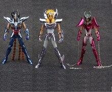 in stock Andromeda Shun Hyoga Cygnus Phoenix Ikki Saint Seiya final VER.3 V3 metal armor Myth Cloth toy action figure TJ Model