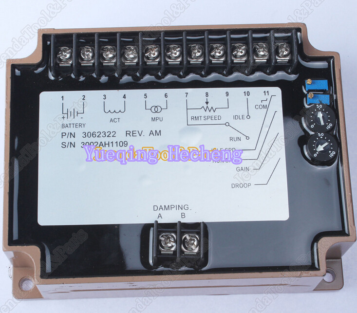 Brand New Speed Controller EFC3062322 Generator 12-24V brand new aftermarket engine speed controller efc3044196 fits 12 24v generator