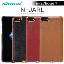 Nillkin N-JARL For iphone 7 QI Wireless receiver case cover nilkin wireless charger power charging Transmitter for iphone 7