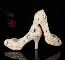 2016 Free shipping  Round Toe High heel 14 platform 4  PU leather  wedding fashion pumps Thin Heels Women Shoes Size 34-43