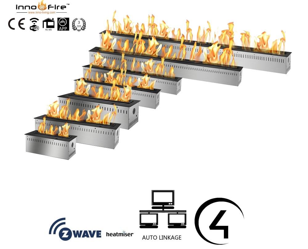 Inno Living Fire 72 Inch Lareira Bio Etanol Fireplace Burners