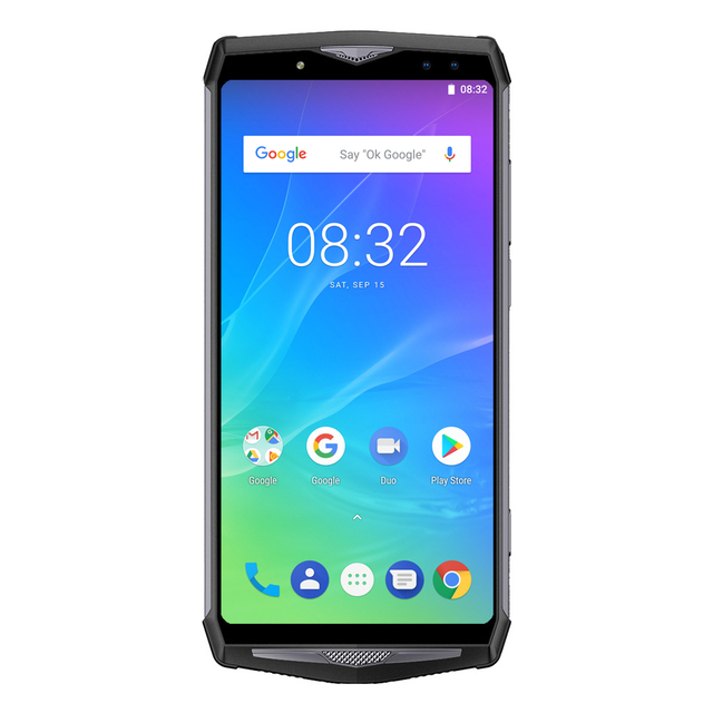 Ulefone Power 5s 13000mAh Mobile Phone Android 8.1 6.0″ FHD MTK6763 Octa Core 4GB+64GB 21MP Face ID Wireless Charge Smartphone