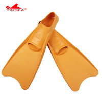 YINGFA Swimming Fins Adult Snorkeling Foot Flipper Diving Fins Beginner Swimming Equipment Portable Short Frog Shoes XXS XL