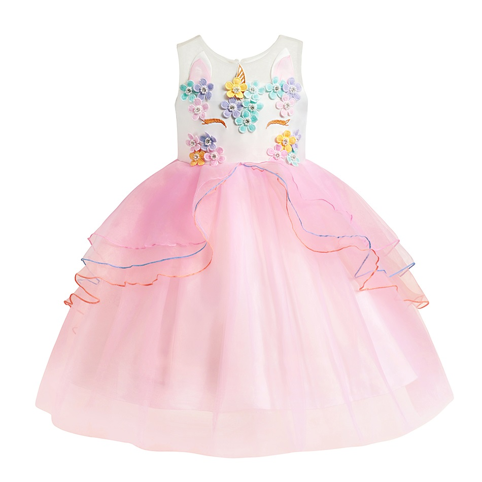 Pink Unicorn Dress (1)1