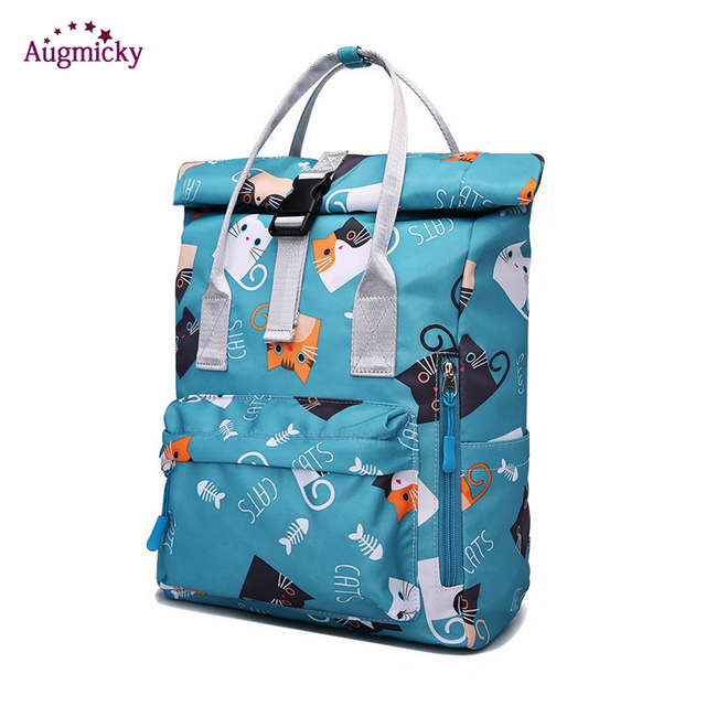 2019 fashion Large Capacity Backpack Women Preppy School Bags For Teenagers women Nylon Travel Bags Girls LaptopBackpack Mochila