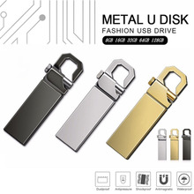 Hot Sale USB 2.0 Flash Drives Metal USB Flash Drives 64GB 128GB 32GB 16GB 8GB Pen Drive Flash Memory USB Stick U Disk Storage цена и фото