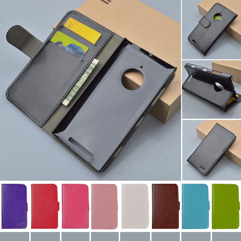 Original J R Brand Stand Leather Case for Nokia Lumia 830 Flip Cover For Nokia 830