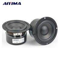 2pcs 3Inch Woofer Audio Speakers 4Ohm 15W Fever Hifi Speaker Sound Bass Unit Lound Speaker