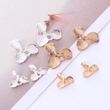 10 pieces/batch fashion glamour alloy orchid Coulomboho Necklace accessories DIY pendant lady jewelry necklac
