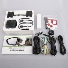 Système auxiliaire pour changement de piste aveugle de voiture BSD, radar à micro ondes, ligne parallèle, alerte de surveillance de zone aveugle BSD