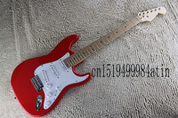 Free shipping Top Quality red electric guitar stratocaster Eric Clapton Signature BLACKIE Electric Guitar @17