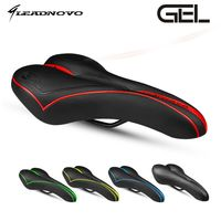 In Stock LEADNOVO upgrade saddle silica gel soft sillin mtb road bicycle cushion seat cycling high quality bike parts