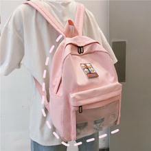 Clear Transparent Nylon Women Backpacks Cute Cartoon Ita Bookbags Student School Bags For Teenage Girls Travel