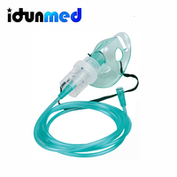 Disposable PVC Nebulizer Nebuliser Aerosol Mask For Adult Child
