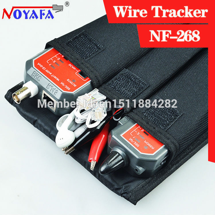 Tracer NF-268 check-ray none noise device length tester Free shipping not include battery
