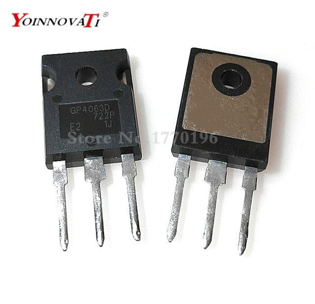 50pcs/lot IRGP4063D IRGP4063DPBF GP4063D IGBT 600V 96A 330W TO 247 IC Best quality