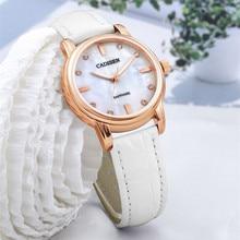 New brand CADISEN lady Relogio watch Feminino leather watch watch fashion ladies casual quartz watch watch