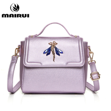New Style Handbags Flap Women Famous Designer Brand PU Leather Womens Messenger Bags Luxury Pink Crossbody Shoulder Bag Female