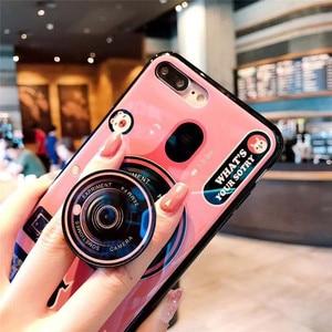 Image 4 - สำหรับ Huawei Y6 Y7 PRIME 2018 Blue Ray กล้องขาตั้งซิลิโคนสำหรับ Huawei Y5 Y6 Y7 2017 y9 2018 Y6 Pro 2019 Coque