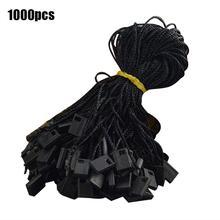 1000 шт./упак. 7 дюймов повесить шнур для одежды пломбировальная наклейка с висячая веревочная для ювелирных изделий