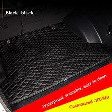 цена на car mat trunk Cargo Liner for MG all model mg3 mg5 mg6 mg7 mg3sw Ruiteng GT ZT ZR TF car trunk pad car accessories Car Styling