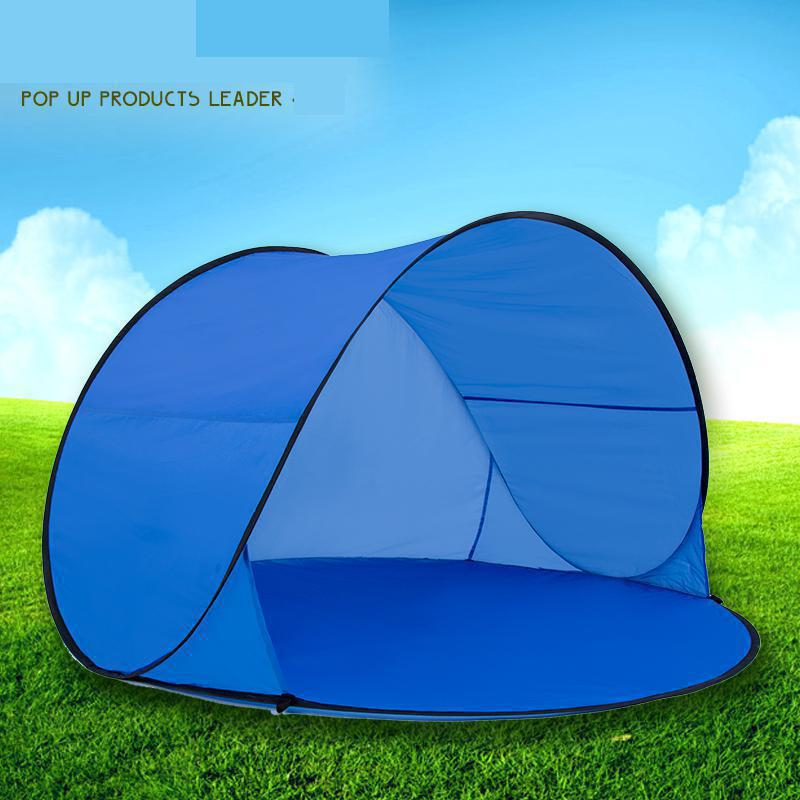 Fully Automatic Sun Shade Quick Open Pop Up Beach Awning Fishing Tent Outdoor Camping Hiking Summer Uv Protection In Tents From Sports