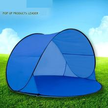 Fully Automatic Sun Shade Quick Open Pop Up Beach Awning Fishing Tent Outdoor Camping Hiking Beach Summer Tent Uv Protection