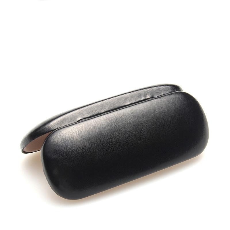 Venta caliente Caja de Gafas de Cuero Para Hombres Caja de Gafas de - Accesorios para la ropa - foto 5