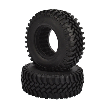 4PCS 100mm 1.9 Inch Rubber Tires With Foam Inserts For 1:10 RC Rock Crawler Axial SCX10 D90 D110  Tamiya CC01 1.9 Inch Tyres