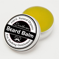 100% Natural aftershave Beard Balm Moustache Wax for styling, Beeswax moisturizing smoothing gentlemen beard care