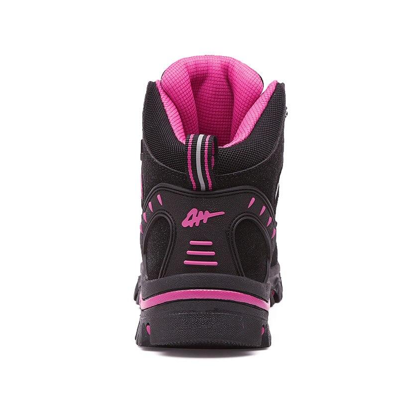 Image 2 - Winter Outdoor hiking shoes women waterproof non slip climb mountain trekking mujer Unisex Walking shoes warm men size 35 45Hiking Shoes   -