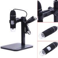 D1U New Portable1000X 8 LED 2MP USB Digital Microscope EndoscopeMagnifier Camera Lift Stand Free Shipping