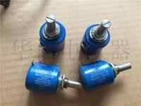 Quality assurance 3500S E07 103 10K 0.1% 10 lap multi turn potentiometer shaft diameter 6.4MM (SWITCH)