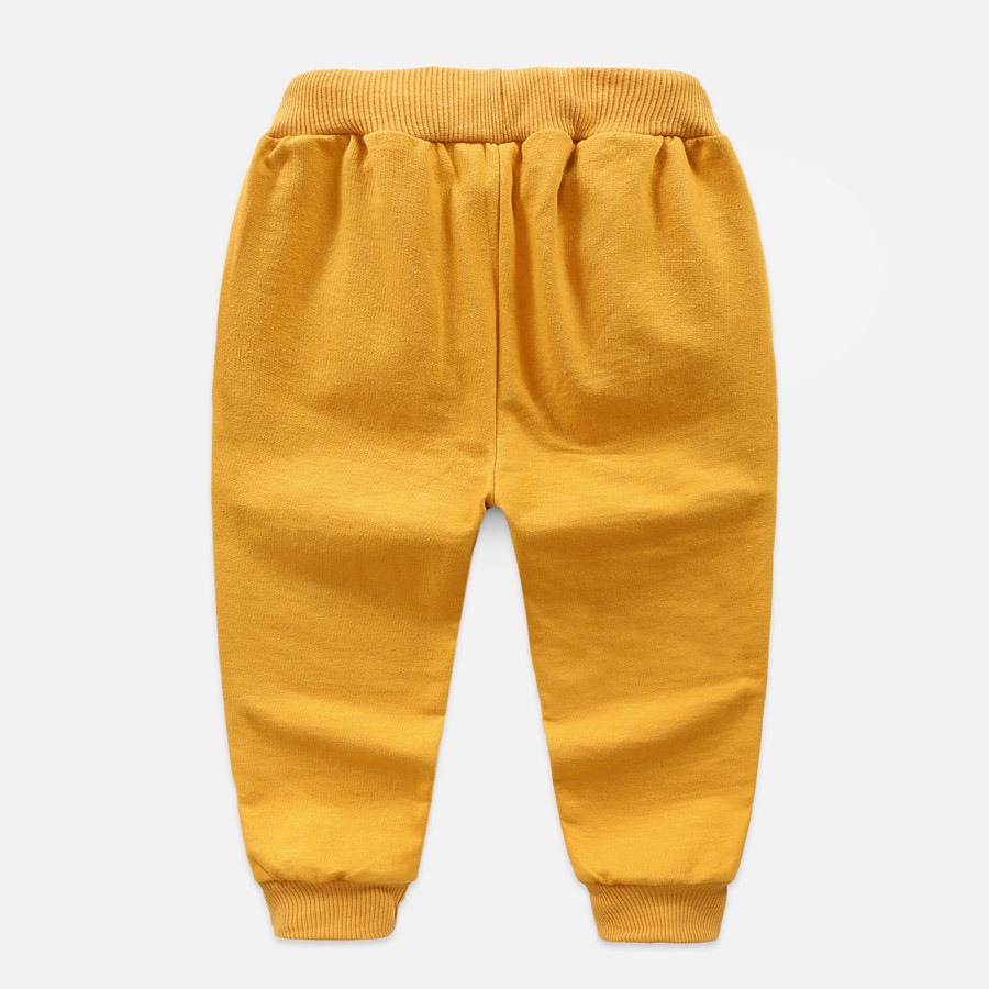 Boys Sport Warm Pants For 2-6 Yeas Solid Boys Girls Casual Sport Pants Jogging Enfant Garcon Kids Children Trousers DS29