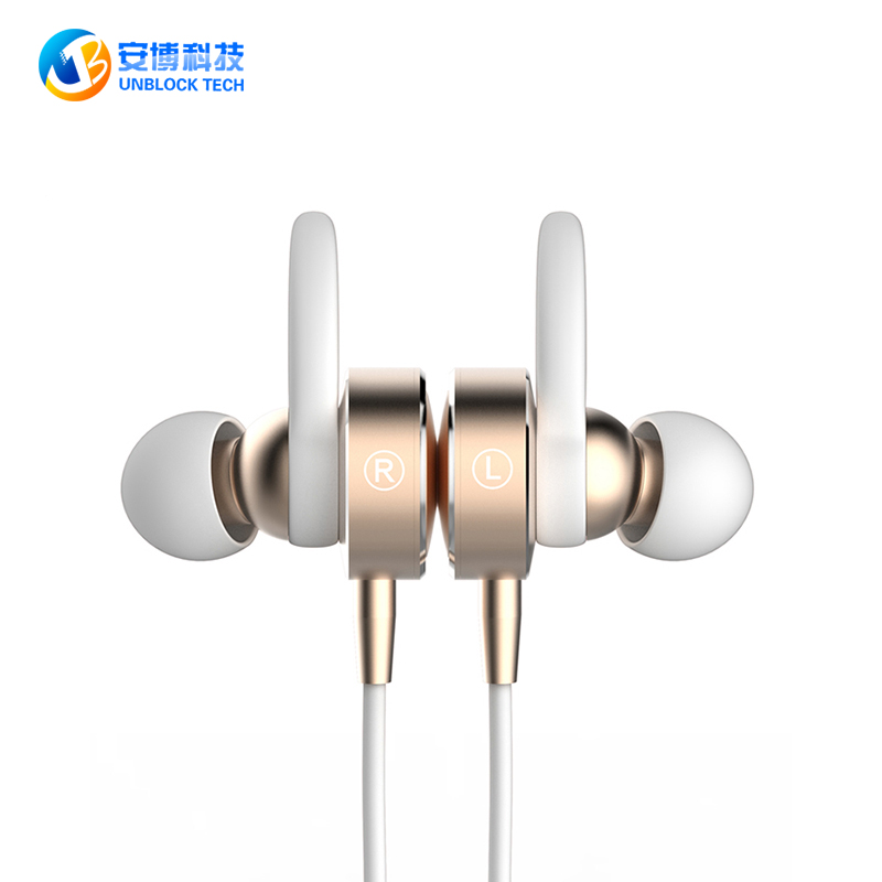 UNBLOCK TECH Q8 Wireless Headphone Bluetooth Headset Earphone Sports Music V4.1 Bluetooth Casque for Iphone Samsung Xiaomi