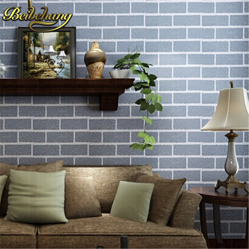 beibehang brick rustic TV background brick wall paper rolls Papel de parede for walls 3d mural wallpaper for walls contact-paper beibehang wallpaper for walls 3d deep embossed pvc mural wall paper papel de parede tapete bedroom home decoration contact paper