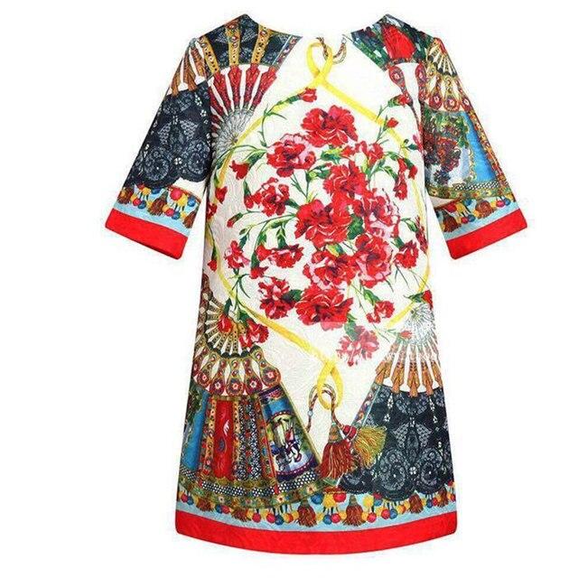 77516ebb7ef7 New Spring Summer Baby Girl Dress Rose A Line Princess Dress Girls ...