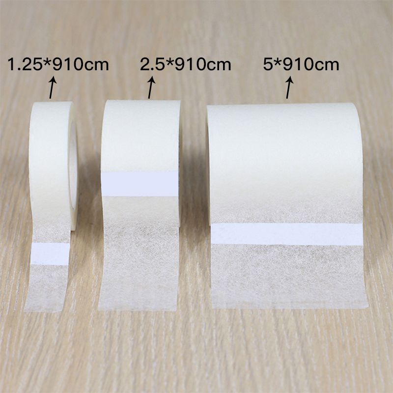 Medical Nonwoven Tape Hypo-allergenic Tape Household Emergency First Aid Accessories Breathable Non-woven Paper Easy Tear Tape