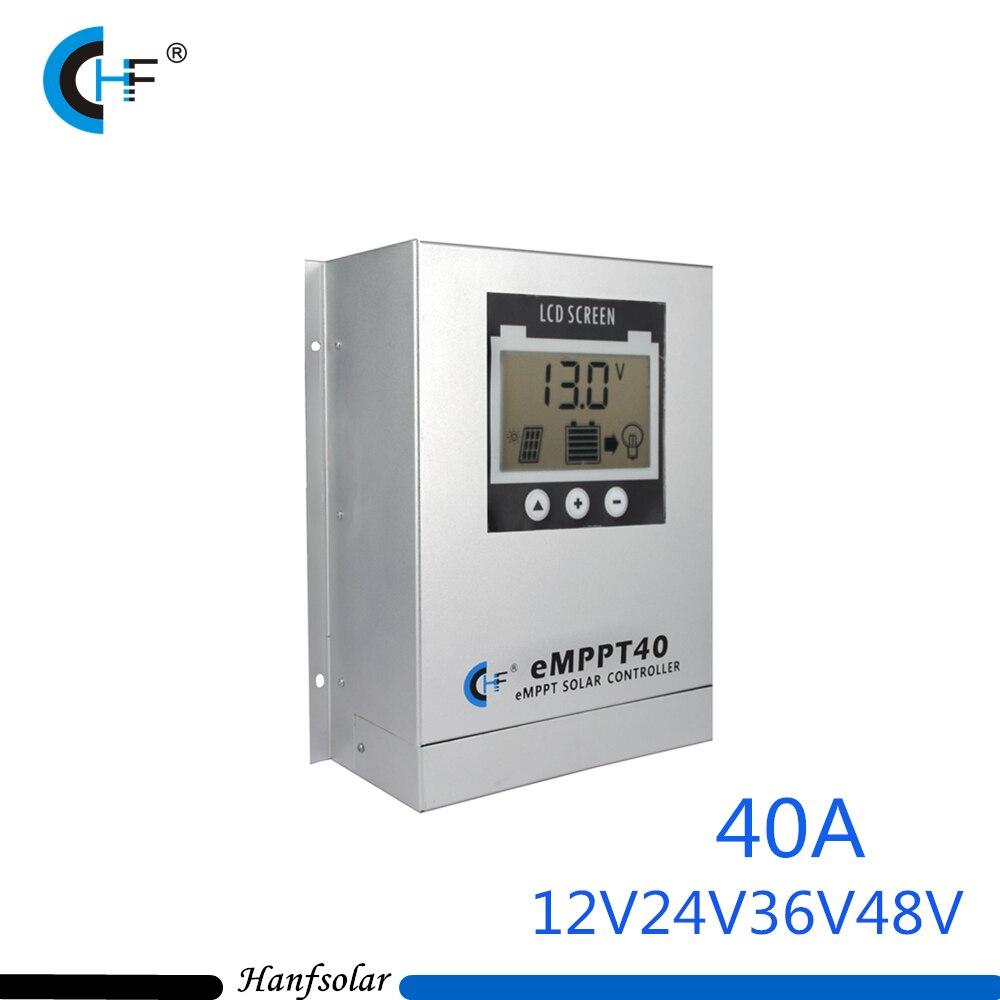 MPPT 40A LCD Solar Charge Controller 12V 24V 36V 48V Auto Switch LCD Display Solar Charge Controller MPPT 40 Charger Controller все цены