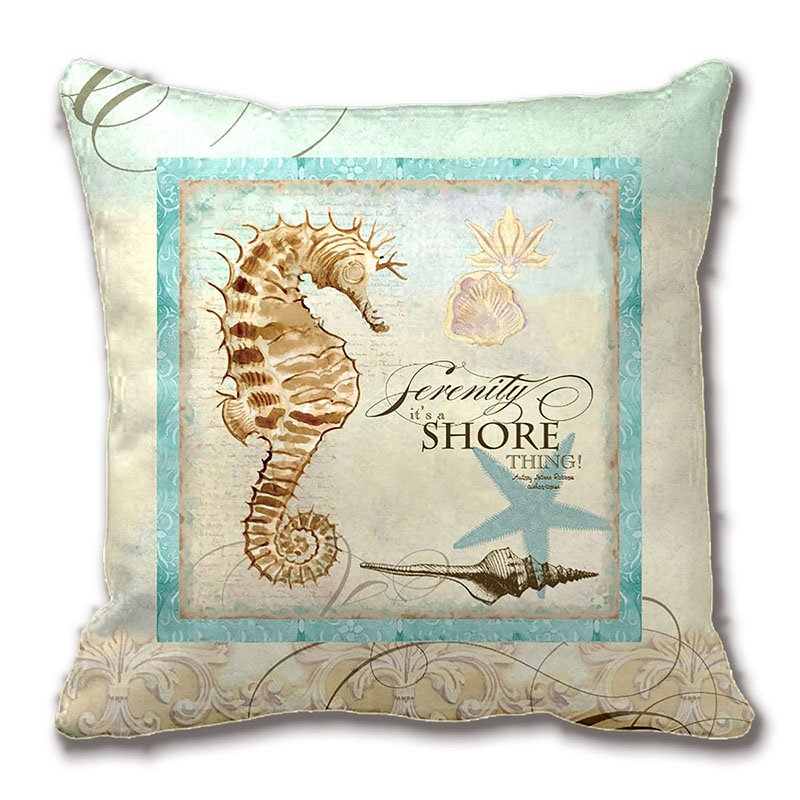 Coastal Decorative Pillows Promotion-Shop for Promotional Coastal Decorative Pillows on ...