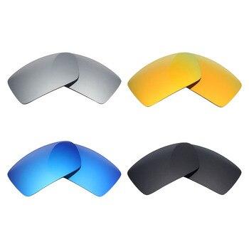 88c075c78c 4 pares mryok anti-Scratch polarizado Objetivos para Oakley GASCAN Gafas de  Sol negro y azul y rojo y plata