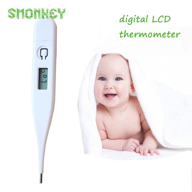 Baby care Kind Volwassen baby Body Digital LCD Verwarming Thermometer Temperatuur Meting baby outdoor elektronische thermometer