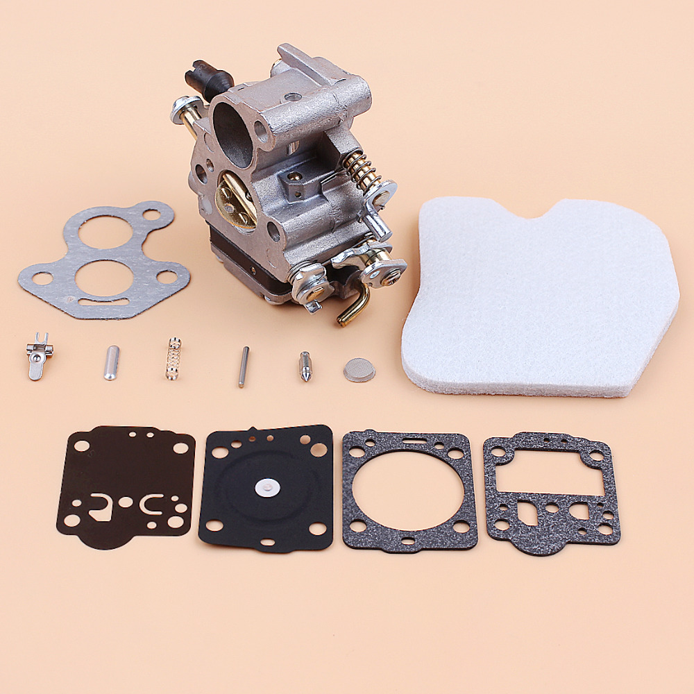 Tools : Carburetor Air Filter Carb Repair Kit for HUSQVARNA 235 236 240 235E 240E 236E Mcculloch CS340 CS380 Chainsaw Parts 545072601