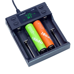 Image 5 - Liitokala Lii S2 Lii S4 Battery Charger, Charging 18650 3.7V 18350 26650 21700 14500 NiMH Lithium Battery