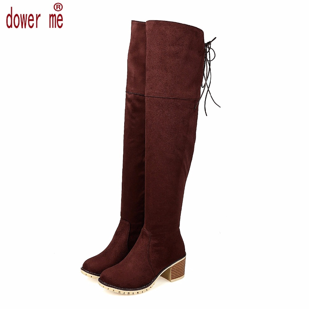 Blue Suede Boots for Women Promotion-Shop for Promotional Blue ...